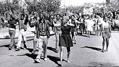 On 16 June 1976 highschool students in Soweto South Africa protested for better education Police fired teargas and live bullets into the marching. African History, Women In History, Black History, Day Of Mourning, Human Rights Day, New Africa, Youth Day South Africa, Today In History