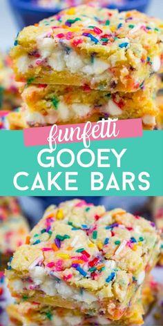 Cake Mix Desserts, Cake Mix Recipes, Just Desserts, Cookie Recipes, Delicious Desserts, Dessert Recipes, Yummy Food, Bar Recipes, Cake Mix Bars