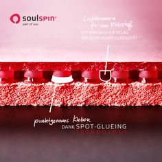 Project 12 | soulspin - part of you  new tabletennis rubber with spot-glueing technology