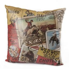 Texas Western Pillow