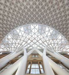 [ London's Historic King's Cross Station _ John McAslan Partners] Old & New in perfect harmony
