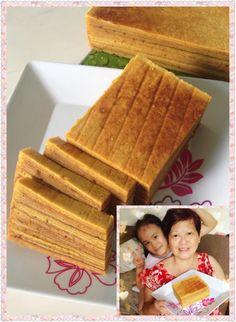 Baking's Corner: Kueh Lapis Legit - by Teng Serene Tan