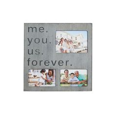Andover Mills 'Me You Us Forever' Wall Plaque