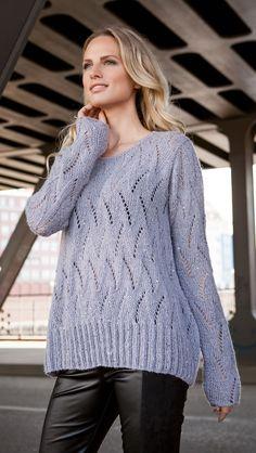Lana Grossa PULLI Lace Seta/Lace Paillettes - FILATI Handstrick No. 61 - Modell 34 | FILATI.cc WebShop