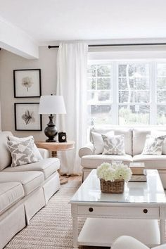 Transitional design, modern furnishings white Interior, home decor, wood furniture,upholstered seating. Cream Living Rooms, Living Room Modern, My Living Room, Living Room Designs, Beige And White Living Room, Living Room Ideas Light And Airy, Classic Living Room Furniture, Living Furniture, Cozy Living