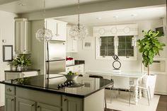 Crisp, clean white kitchen Photography By / http://melanilustphotography.com