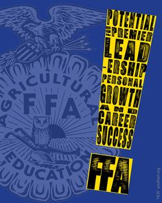 FFA is my everything Leadership Qualities, Leadership Quotes, Cheer Posters, Agricultural Science, Environmental Education, Career Success, Business Education, Ffa, Science Classroom
