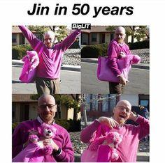 Princesses never get old   BTS - Jin