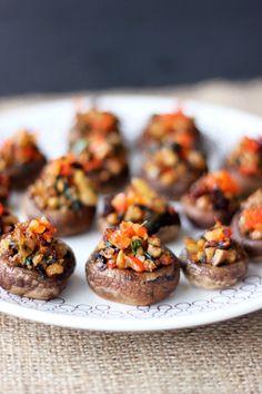 Vegan Grain-free Stuffed Mushrooms (Gluten-free + Vegan) by Tasty Yummies, via Flickr