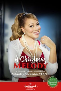 "Hallmark Channel: ""A Christmas Melody"" starring Mariah Carey Xmas Movies, Hallmark Christmas Movies, Hallmark Movies, Family Movies, Hd Movies, Movies To Watch, Movies Online, Movie Tv, Christmas Time"