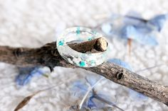 Nature inspired ring! So cool!