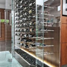 Modern Wine Cellar Hawaii Spaces Modern Wine Cellar Design, Pictures, Remodel, Decor and Ideas - page 5