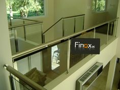 Todo en Acero inoxidable Stairs, Home Decor, Verandas, Staircases, Mezzanine, Houses, Stainless Steel, Stairway, Decoration Home