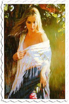 ℓσηgє∂єν¢   Just another WordPress.com site   Página: 68 Woman Painting, Figure Painting, Painting & Drawing, Female Portrait, Female Art, Figurative Kunst, Double Exposition, Portrait Pictures, Photos