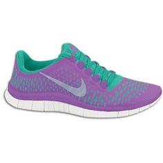da9fcfcf5874 Nike Free Run 3.0 V4 - Women s - Laser Purple Reflective Silver Atomic Teal
