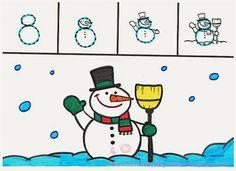 El 8: Un muñeco de  nieve