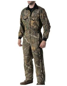 285eae7713496 Keep warm and dry in Walls Realtree X-tra Camo Insulated Coveralls with 6 oz