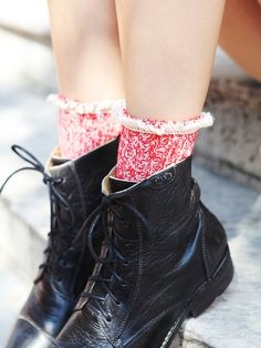 Free People Heathered Highland Boot Sock, $14.00