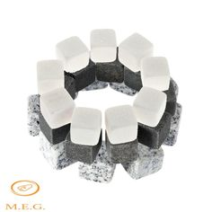 Adeeing Natural Whisky Ice Stones Whiskey Rock Cooler Ice Cubes Barware Wine Accessories With Storage Bag Ice Stone, Stone Bar, Whisky, Cool Cube, Ice Cooler, No Plastic, Wine Drinks, Beverage, Barware