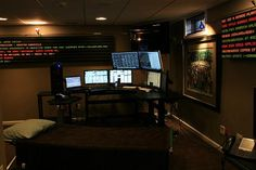 Home Day Trading Office