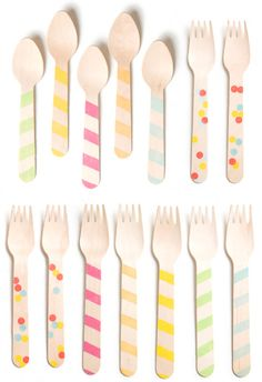 wooden utensils by sucre
