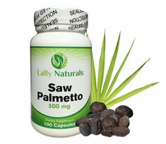 Saw Palmetto Complex for Prostate Health 500mg (100 Count) ★ Extract Berry Powder ★ DHT Blocker to Combat Hair Loss★ All Natural ★ Helps to Reduce Frequent Urination * See this awesome image  : Herbal Supplements