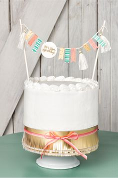 Use the Cake Crazy stamp set to make a custom cake topper! Happy Birthday Template, Diy Birthday Banner, Birthday Clipart, Happy Birthday Cake Topper, Diy Birthday Decorations, Diy Cake Topper, Custom Cake Toppers, Rustic Birthday, Bolo Cake
