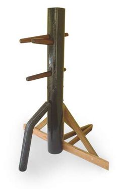 True form meets function: Coat rack or Wing Chun kung fu training dummy?