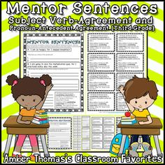 Mentor Sentences for Simple, Compound, and Complex Sentences {Third Grade} Reading Lesson Plans, Reading Lessons, Writing Lessons, Writing Skills, Expository Writing, Narrative Writing, Editing Writing, Subordinating Conjunctions, Fourth Grade Writing