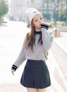 korean fashion that skirt!!