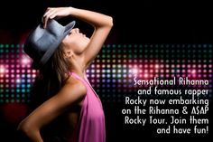 Whether your favorite singer is coming to town or you want to experience the joy of watching a live performance, events and concerts such as Rihanna ASAP Rocky are sure to satisfy your palate. The cheap tickets along with detailed schedules and seating plans are available on our website to enjoy this entertaining event!  http://www.ticketsmate.com/concerts-tickets/r-b-soul/rihanna-asap-rocky/rihanna-asap-rocky.php