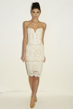 Wedding Dresses: Fall 2014: Short, Sheer and Tulle – enfianced @ Wedding-Day-Bliss