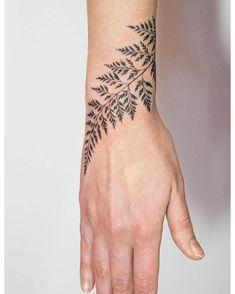 'Horticulture Fluidity' by Mowgli #mowgli #mowgliartist #micro #graphical #graphicaltattoo #geometric #geometrictattoo #wristtattoo #leaf #leaftattoo #blackwork #blacktattoo #patterntattoo #pattern #avantgarde #throughmythirdeye #triangle #love #life #london #positive #artist #art #tattoo #tattrx #tattoos #tattooartist