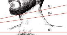The line between lumberjack and high schooler's first beard lies somewhere near your Adam's apple. Some tips on where to mark your beard line.