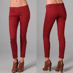 Current Elliott Rodeo red Skinny Jeans Rodeo red skinny jeans Current/Elliott Jeans Skinny