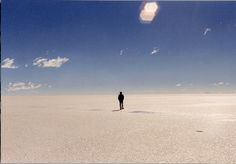"""Walking Away at the Salar"""