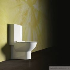 Sfera 63 Back To Wall Toilet Suite With Slim Seat - Toilets & Bidets - Products Toilet Suites, Back To Wall Toilets, Slim, Contemporary, Bathroom, Design, Products, Washroom, Full Bath