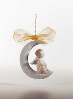 Lladro a Wish for a Dream Ornament. #Lladro #Statue #Sculpture #Decor #Gift #gosstudio .★ We recommend Gift Shop: http://www.zazzle.com/vintagestylestudio ★