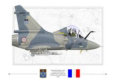 My latest, a French Air force Mirage 2000C that flew during the first Gulf War.