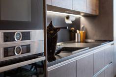 #linekitchen #germankitchens #modernkitchen #kitchendesign #smallkitchen  #kitchenfurniture #kitchenideas #kitchendecor #kitchengermandesign  #bucatarieIXINA #bucatariemoderna #IXINA #IXINAclara #IXINAkitchen #IdeiDeLaIXINA Dark Grey Kitchen Cabinets, Kitchen Cabinet Colors, Kitchen Colors, Kitchen Design, Small Cottage Kitchen, Farmhouse Style Kitchen, Wooden Range Hood, Bead Board Walls, Natural Fiber Rugs