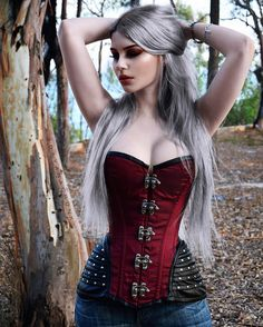 "11.5k Likes, 82 Comments - Dayana Crunk (@dayanacrunk) on Instagram: ""Corset from @burleska_corsets ❤️ Hair dye @lunartideshair"""
