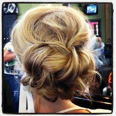 Bridal Updo- Bridal Hair by Kimberly Marie @ Salon Ish