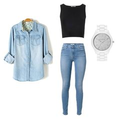 Designer Clothes, Shoes & Bags for Women Nadine Lustre Outfits, Meet, Michael Kors, Glamour, Shoe Bag, Polyvore, Stuff To Buy, Shopping, Collection