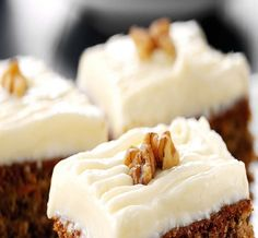 Enjoy our twist on an old favourite with this recipe for carrot cake. Using FAGE Total Yoghurt ensures a moist cake in addition to being healthier. Greek Sweets, Greek Desserts, Moist Carrot Cakes, Moist Cakes, Sweet Recipes, Cake Recipes, Dessert Recipes, Yogurt Recipes, Greek Dishes