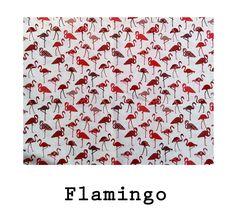 Loneta algodón Flamingo disponible en todos los productos Arethaju