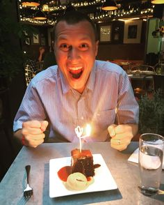 Birthday dreams do come true! Kelsey and her husband had ordered a dessert to celebrate his birthday and a regular marjorie customer and her colleague ordered one for him too. To his delight, we served both! #dessert #nomnom #birthdaymagic #sweettooth #seattlerestaurants
