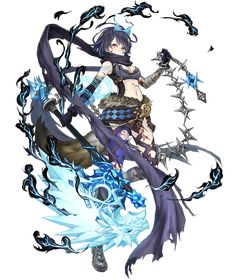 View an image titled 'Alice, Wrath Wolf Crusher Job Art' in our SINoALICE art gallery featuring official character designs, concept art, and promo pictures. Character Design Inspiration, Fantasy Characters, Character Design, Anime Fantasy, Character Art, Game Character Design, Art, Anime, Anime Characters