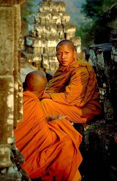 Cambodia #buddhist #buddhism #monk