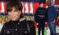 Taking a Gamble! Kris Jenner cackles as she shows off toyboy Corey