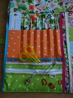 Katrine: Strick-Nadel-Tasche Diy, Craft Ideas, Clothing, Bags Sewing, Handarbeit, Bricolage, Do It Yourself, Homemade, Diys